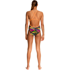 Funkita One Piece Cross Back Girls Jungle Jagger